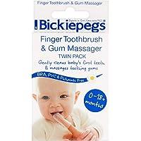 Finger Toothbrush & Gum Massager Twin