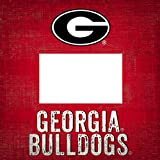 NCAA Georgia Bulldogs ''Team Name'' 4 in. x 6 in. Wood Photo Frame
