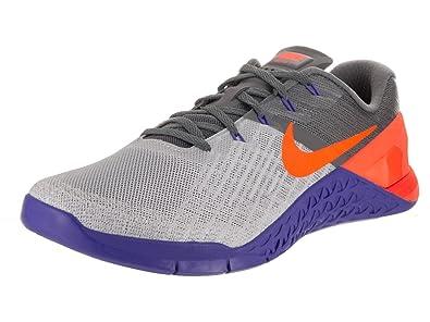 Nike Hombres Metcon 3 Zapatillas De Entrenamiento Pista Wolf Wolf Pista Gris  Tart 1695b2