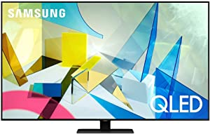SAMSUNG 65-inch Class QLED Q80T Series - 4K UHDDirect Full Array 12X Quantum HDR 12XSmart TV with Alexa Built-in (QN65Q80TAFXZA, 2020 Model)