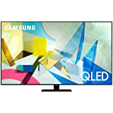 Samsung 55-inch Class QLED Q80T Series - 4K UHD Direct Full Array 12X Quantum HDR 12X Smart TV with Alexa Built-in (QN55Q80TAFXZA, 2020 Model)