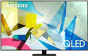 SAMSUNG 55-inch Class QLED Q80T Series - 4K UHD Direct Full Array 12X Quantum HDR 12X Smart TV with Alexa Built-in (QN55Q80TAFXZA, 2020 Model)