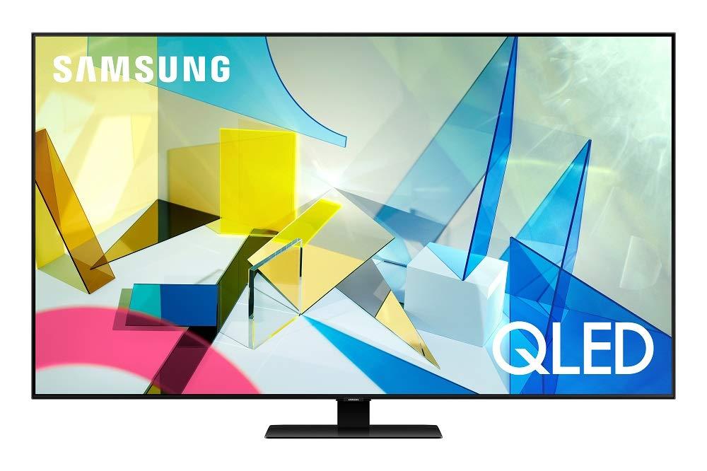 "Samsung 55"" Q80T QLED 4K UHD Smart TV with Alexa Built-in QN55Q80TAFXZA 2020"