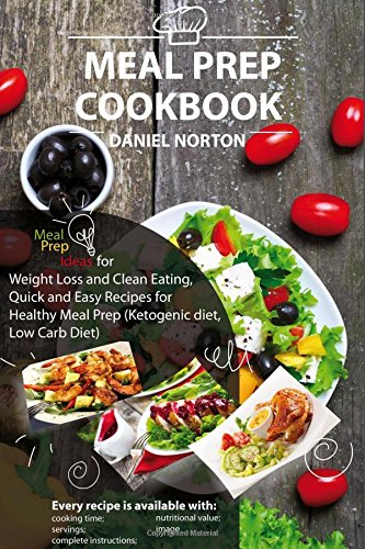 Meal Prep Cookbook Recipes Ketogenic product image