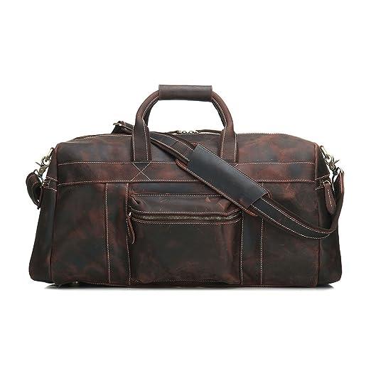 Bolsa de equipaje de mano Bolsos de cuero para hombres ...