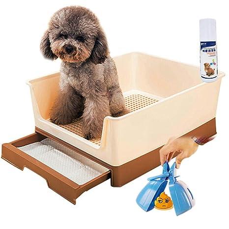 Yuan Productos para Mascotas Inodoro para Mascotas - Inodoro para Gatos Perro Mascota Inodoro para orinales