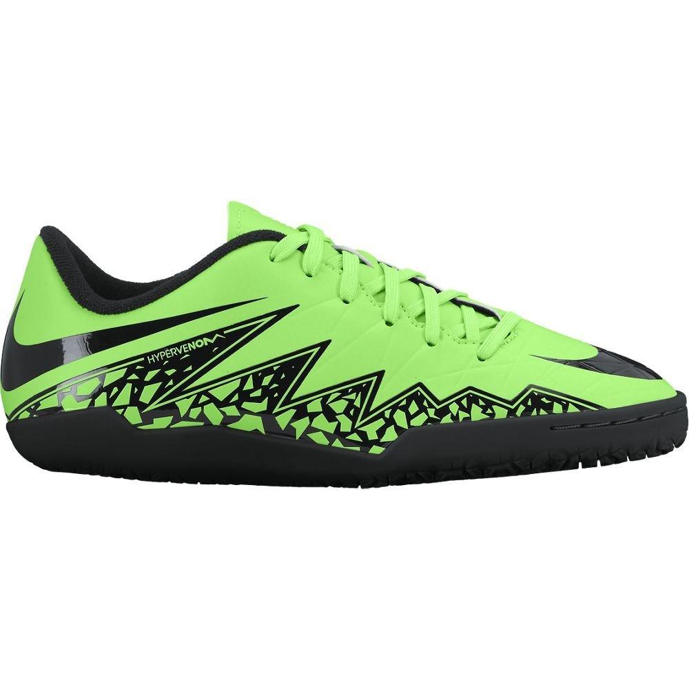Nike Youth Hypervenom Phelon II Turf (Green Strike/Black) (5.5Y)