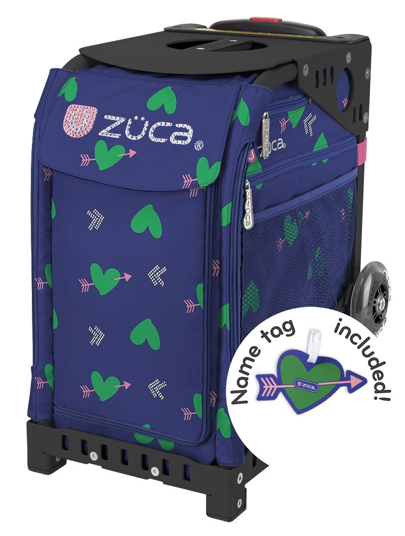 ZUCA ''New'' Sport Insert Bag ''Cupid'' with Sport Frame: Black