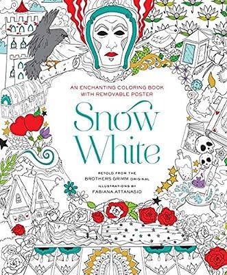 Snow White Coloring Book: Fabiana Attanasio: 9781454920922: Amazon ...
