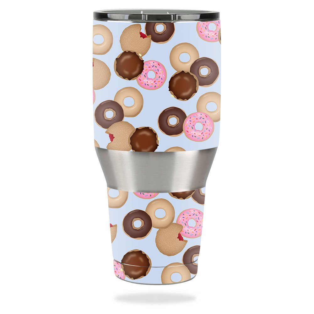 MightySkins Skin For Ozark Trail 40 oz Tumbler – Donut Binge | Protective, Durable, and Unique Vinyl Decal wrap cover | Easy To Apply, Remove, and Change Styles | Made in the USA