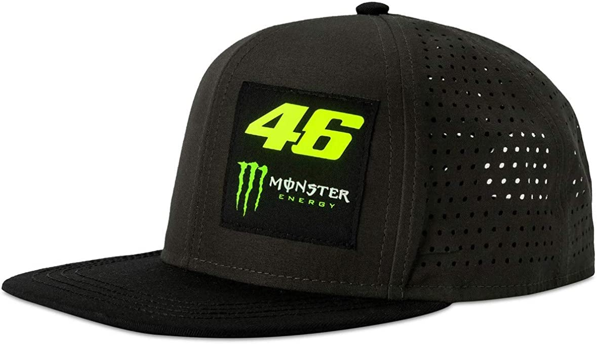 Valentino Rossi Monster VR46 Collection, Sombrero Hombre, Negro ...