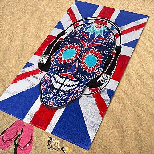 Regalitostv Day of The Dead* Toalla Playa Grande 95 X 175 CM Tacto ...