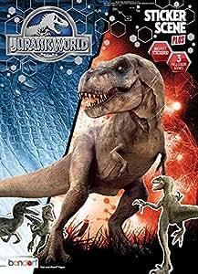 Amazon Bendon Jurassic World Sticker Scene And
