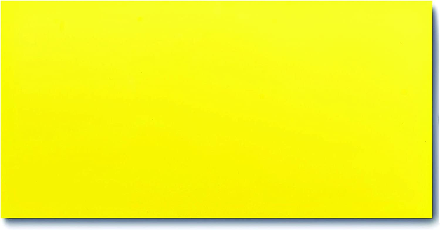 """MADE IN USA DRY ERASE MAGNET YELLOW 1/"""" X 25/' ROLL 30 MIL"""