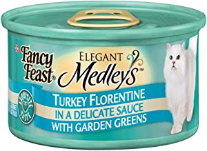 Fancy Feast Elegant Medleys Turkey Florentine Canned Cat Food