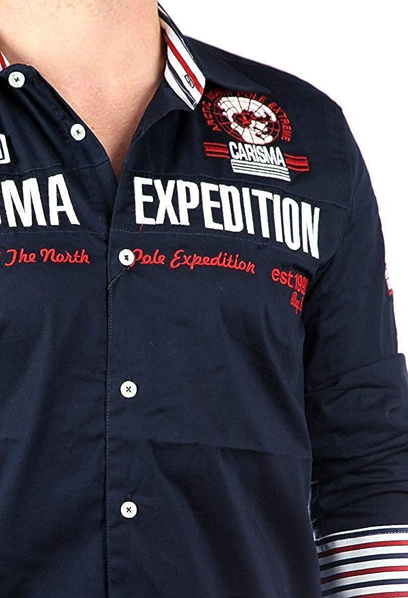 Carisma 8061 Camisa De hombre Camisa Manga Larga
