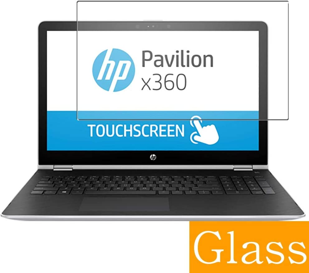 """Synvy Tempered Glass Screen Protector for HP Pavilion x360 15-br000 / br077cl / br052od / br095ms / br015na / br020ca / br010nr / br077nr / br018na / br000ur 15.6"""" Visible Area"""