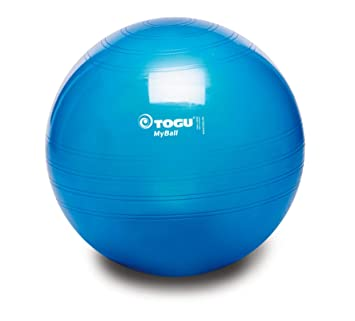 Togu My-Ball - Pelota para Fitness, Color Azul: Amazon.es ...