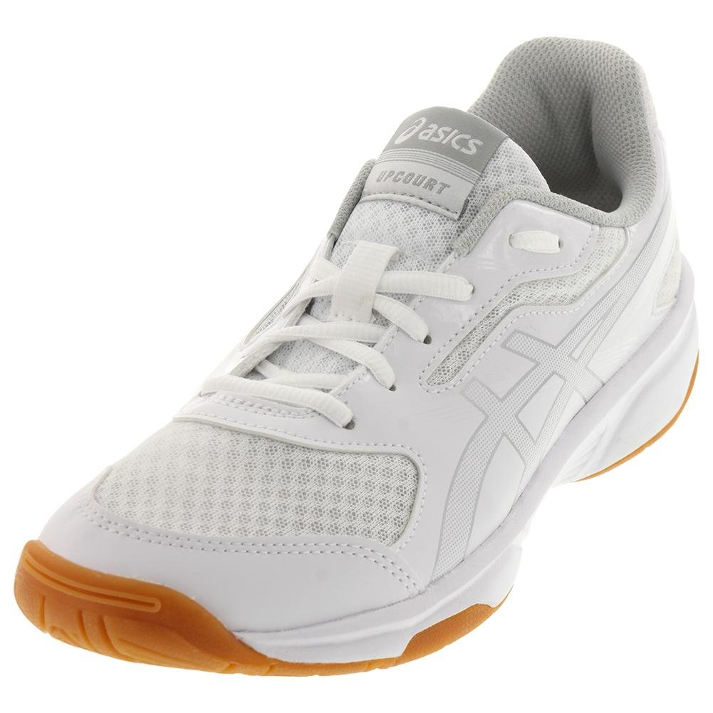 ASICS Men's Upcourt 2 Volleyball Shoe B071Z6SRSR 9 D(M) US|White/Silver