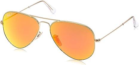 Ray-Ban RB3025polarizado gafas de metal Aviator Gafas de sol Aviator + libre Kit de cuidado