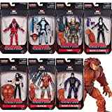 Deadpool Marvel Legends Wave 1 Set of 7 (Sasquatch BAF)
