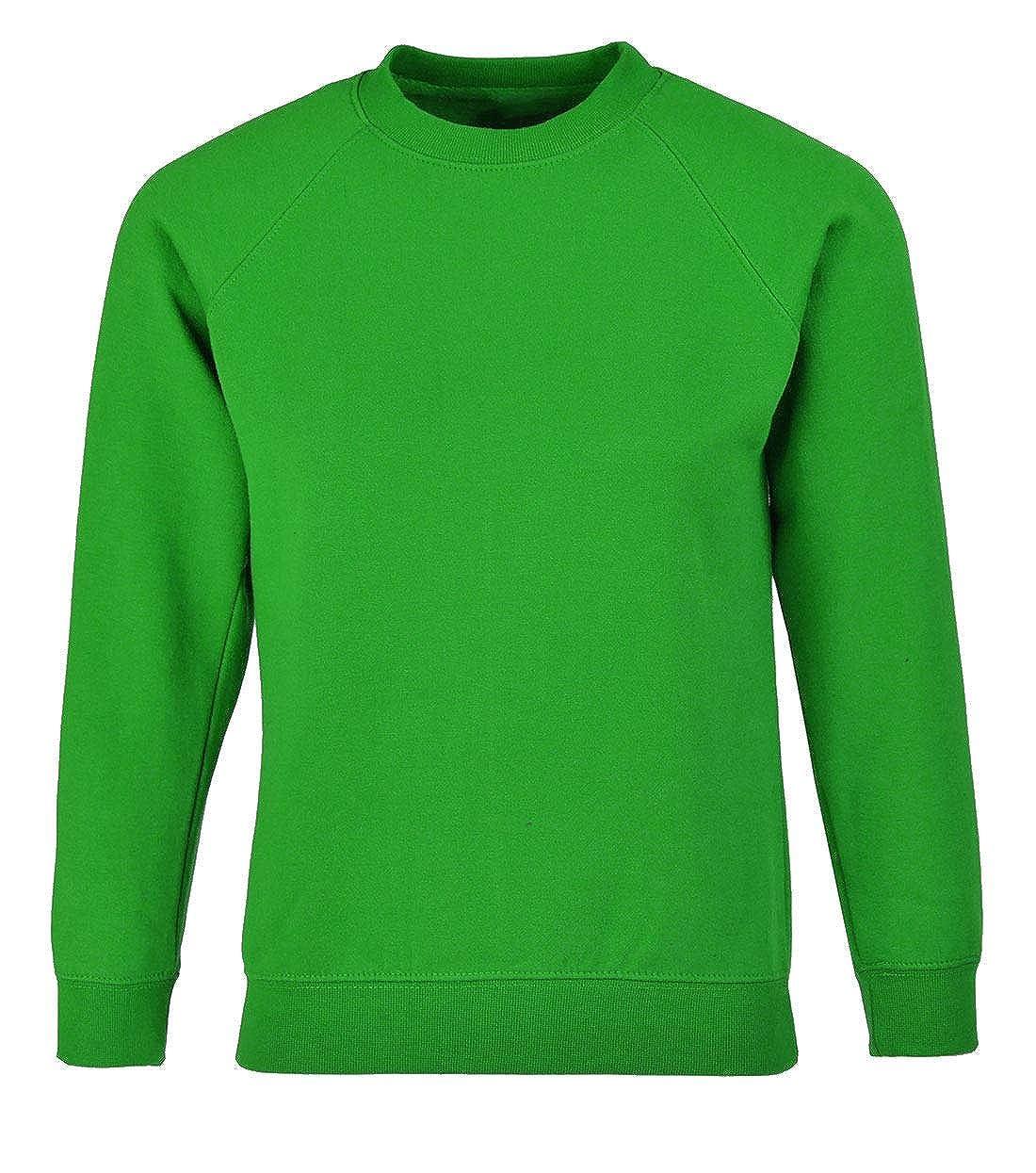 My Choice Stuff Boys Long Sleeve School Wear Uniform Jumper Boys Crew Neck Plain Sweatshirt