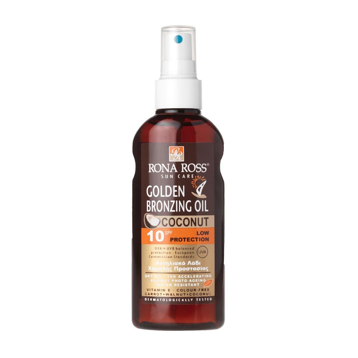Rona Ross Coconut Golden Bronzing Oil Spray SPF 10, 160ml 2742