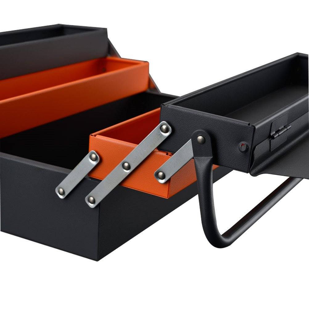 Lightdot Hardware Portable Cantilever Toolbox, 5 Drawers Metal Tools Box by HAR-DEN (Image #3)