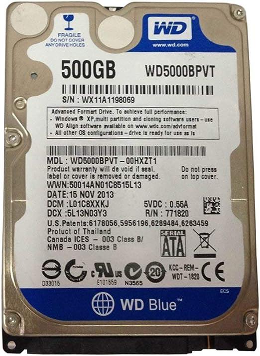 OSTENT Kit de disco duro interno HDD de 500 GB compatible con el ...