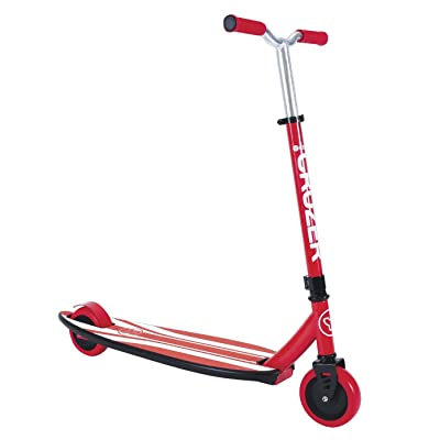 Yvolution Y Scoot Cruzer Skateboard, Red : Sports & Outdoors