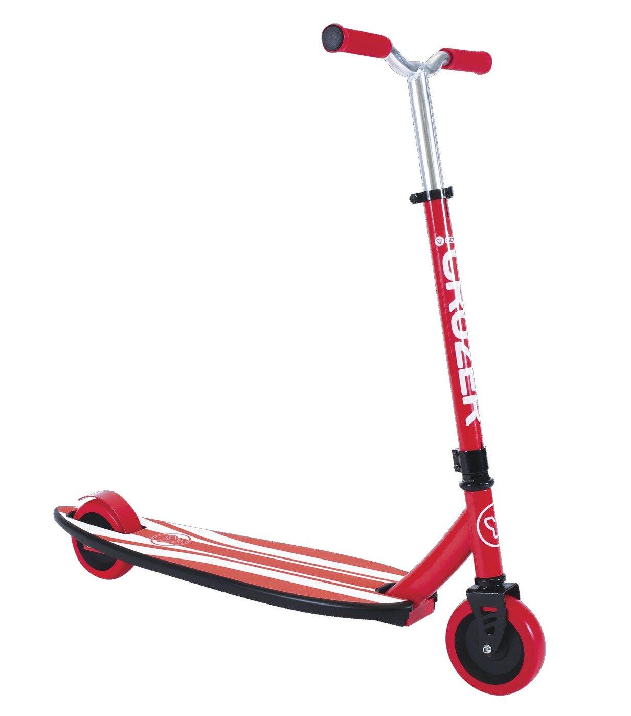 【送料無料キャンペーン?】 Yvolution Y Scoot Scoot Cruzer Skateboard, Red by Y by Yvolution B00OXUQP3Y, イシバシ楽器 WEB SHOP:f78328f8 --- a0267596.xsph.ru