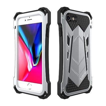 free shipping cf236 0fe7e Amazon.com: iPhone 7/iPhone 7 Plus Case,R-JUST Aluminum Full-Body ...