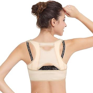 isermeo Sujetador Corrector de Postura con Soporte de Espalda en Para Mujer - L: Amazon.es: Salud y cuidado personal