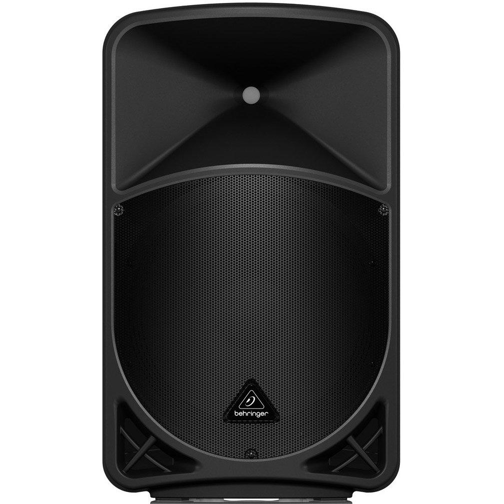 BEHRINGER B15X 1000 Watt 2 Way 15'' Powered Loudspeaker with Digital Mixer Wireless Option, Black