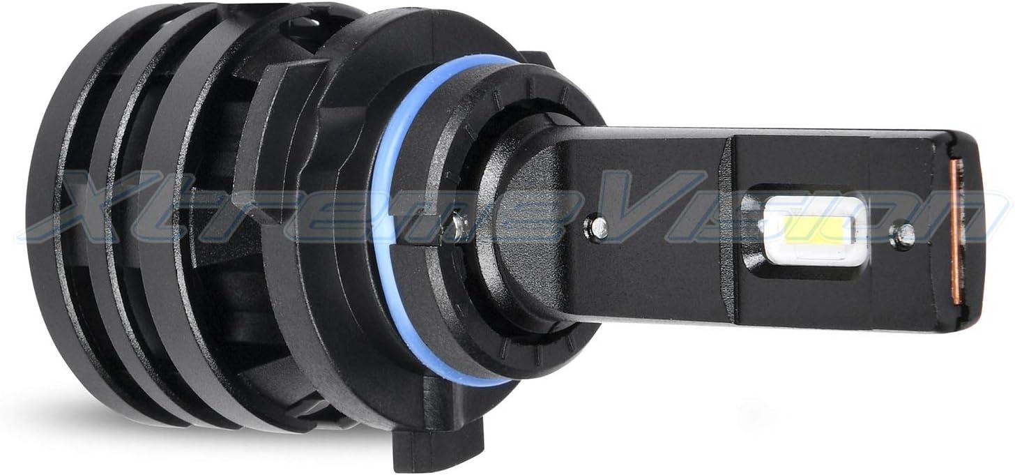 9006 LED Headlight Conversion Kit Xtremevision M2 70W 12,000LM 6500K CREE LED 2019 Model