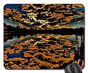 Amazing Sky Reflection Mouse Pad, Mousepad (Sky Mouse Pad, 10.2 x 8.3 x 0.12 inches)