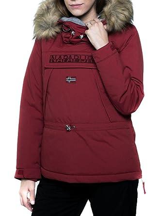 Connu Napapijri Skidoo Woman Garnet L Red: Amazon.co.uk: Clothing QC69