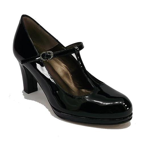 Numero itScarpe Mary 34Amazon Jane In Nera E Vernice Borse qzVUMpS