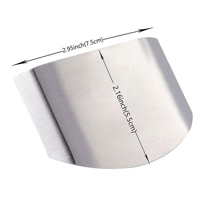 Amazon.com: Protector de dedos, dos anillos fijos se pueden cambiar ...