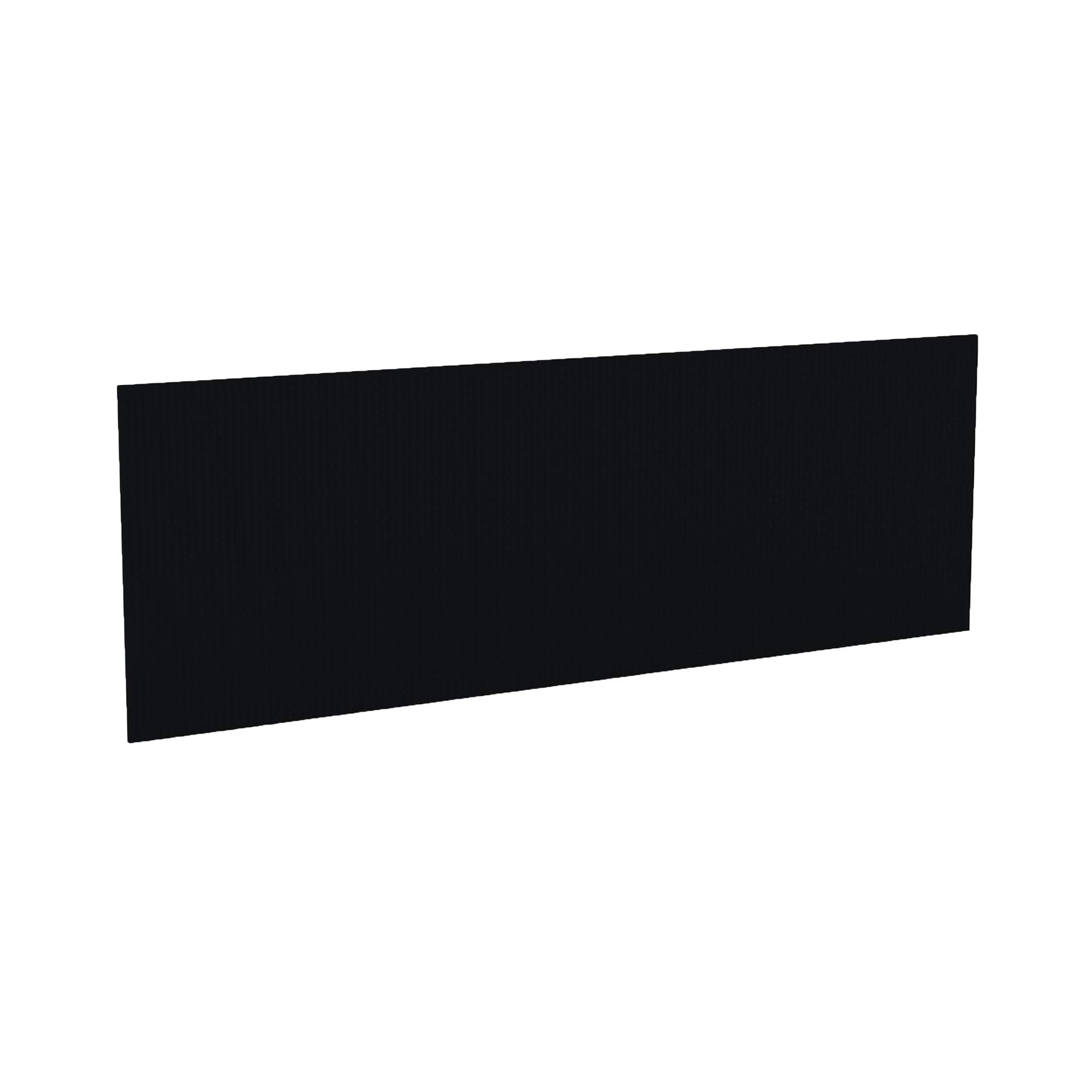 Mayline AFTP60BLK Aberdeen 60''W Hutch Fabric Tack Panel for use with Hutch, sold separately, Burwick Charcoal
