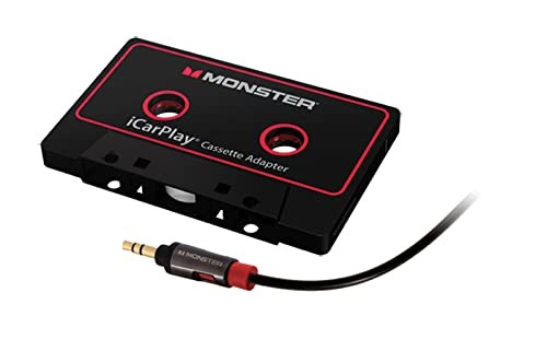 Monster iCarPlay Cassette Adapter 800 For iPod And iPhone