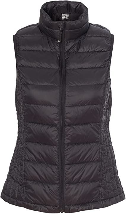 32 Degrees Women/'s Packable Down Vest 16700W Weatherproof
