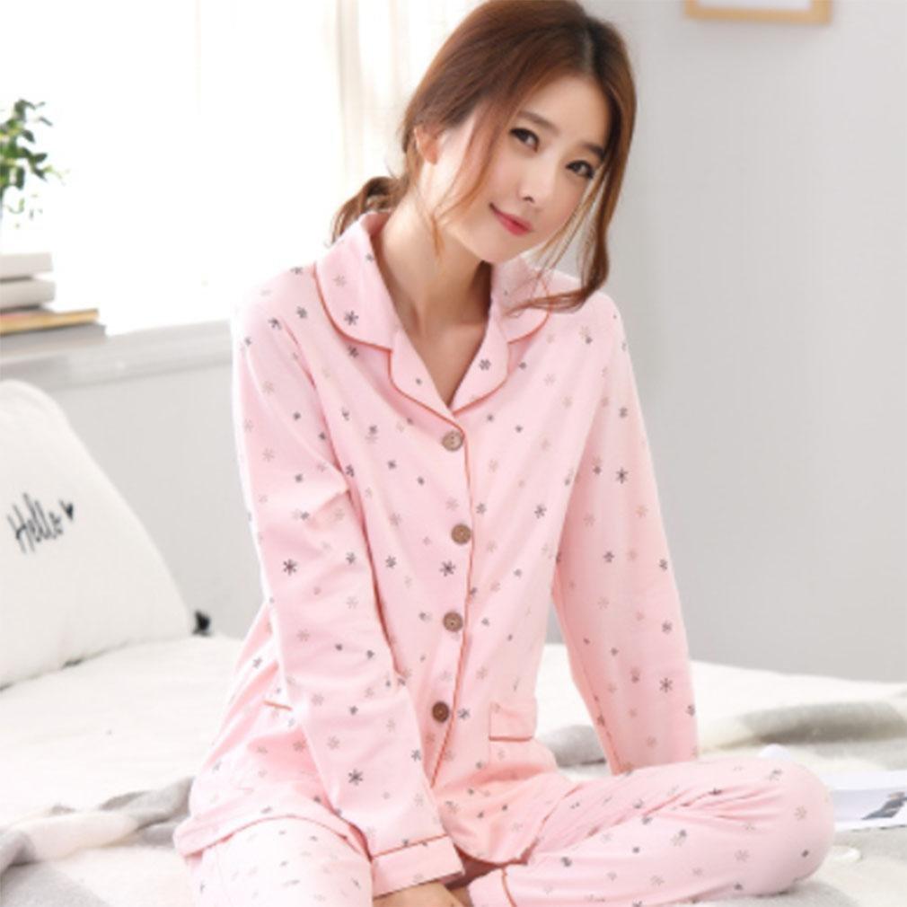 MOXIN Ladies Cosy Soft Cotton Flannel Pyjama Gift Set Long Top & Bottoms Womens Nightwear , xxxl (100% pure cotton) , G