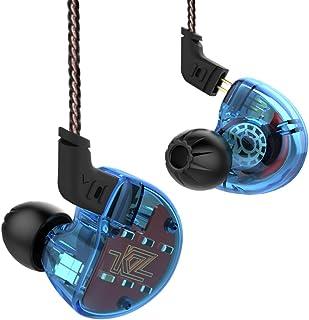 Minzhi KZ ZS10 in Ear Auricolare HiFi Sport Correnti Gancio dell'orecchio di Bluetooth Cuffia Auricolare cablato Earplug Trasparente Rosso 2 amzMinzhiNW2158