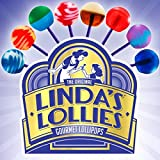 Linda's Lollies Gourmet Lollipops 48 Count Box - Nut, Gluten & Dairy Free - No Fat