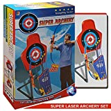 Laser Bow Arrow Super Archery Set Children Kids Crossbow Target Outdoor Games Toy - Super Gift Boxed