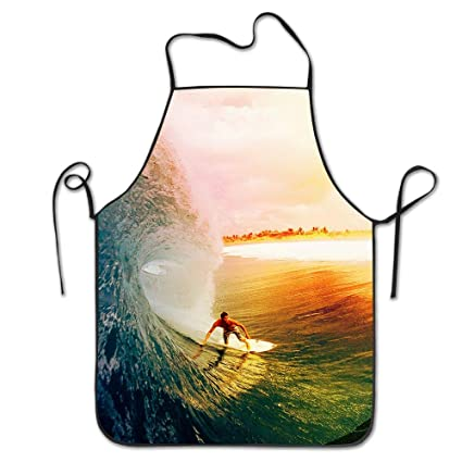 qbeir adjustable bib aprons home kitchen surfing unisex overhand sewing tool durable - Kitchen Surfing