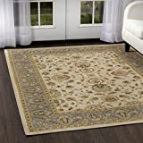 Home Dynamix Optimum Maoz 7'8''x10'4'' Area Rug in Ivory/Blue