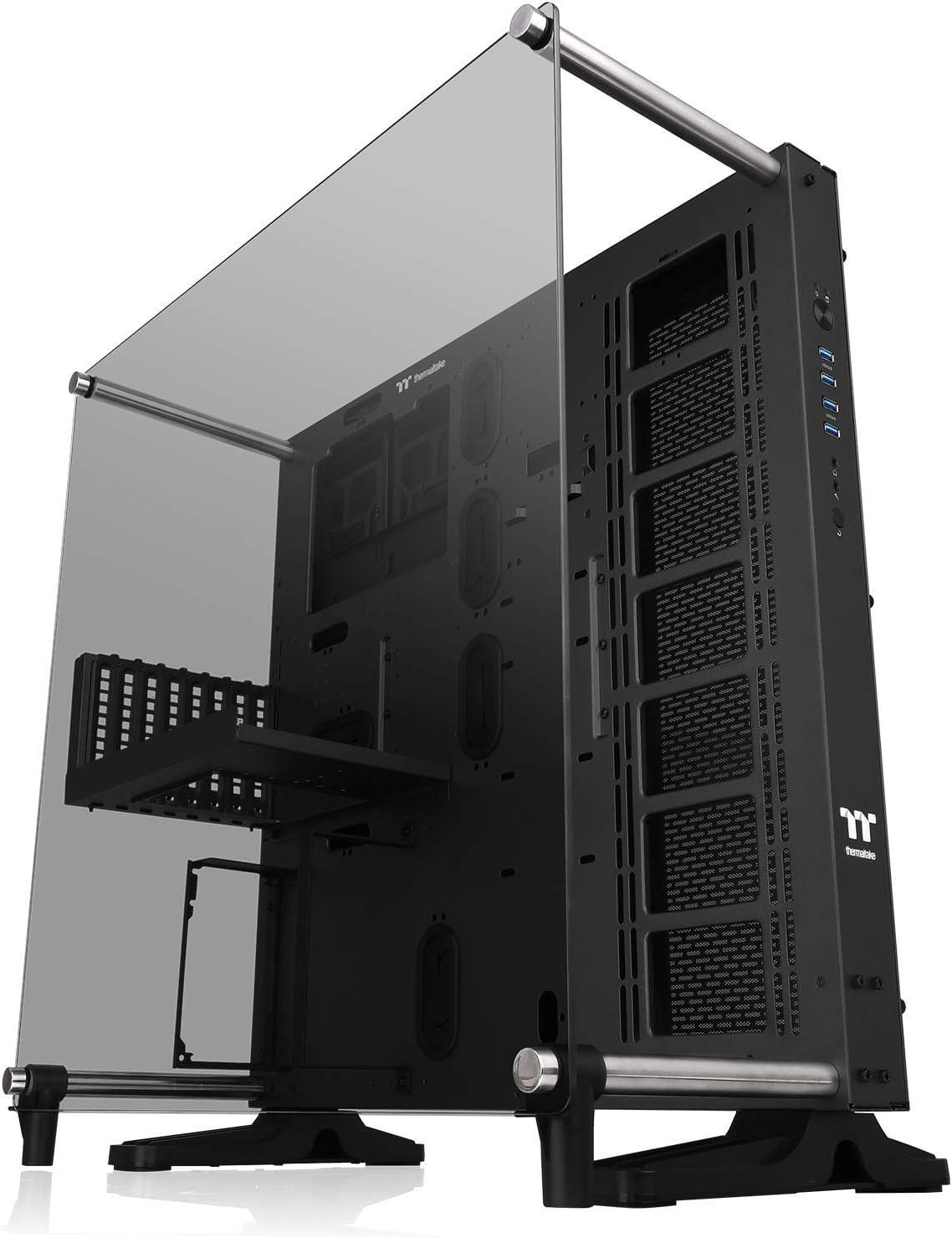 Thermaltake Core P5 Vidrio Templado V2 Edición Negra Marco Abierto Vertical GPU Modular ATX Computer Case CA-1E7-00M1WN-05: Amazon.es: Electrónica