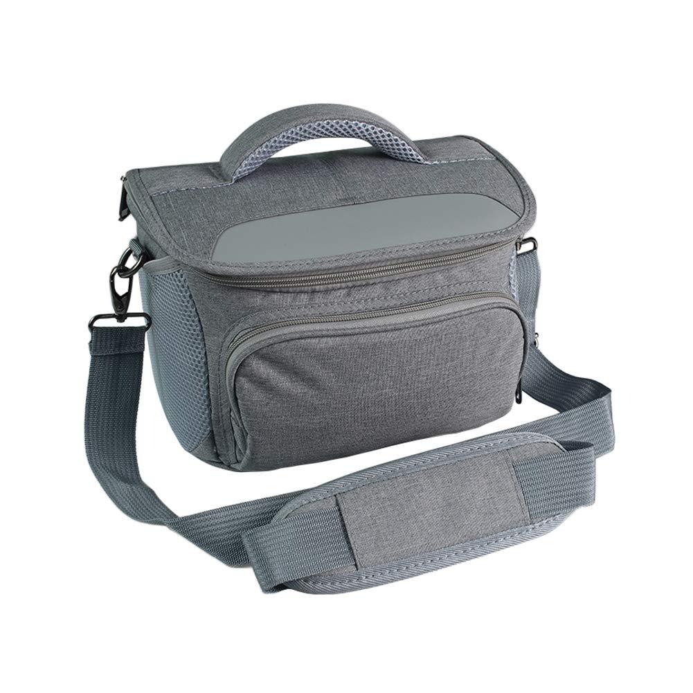 Camera Bag DSLR Shoulder Camera Bag with Waterproof Rain Cover, Wear-resisting Vintage Canvas Camera Case for Canon, Nikon, Sony, Pentax, Olympus, Samsung & More B07F7Q8DP2